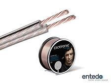 Clicktronic Advanced SPC OFC Silber Kupfer Kabel 2x 2,5mm² Lautsprecherkabel NEU