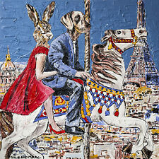 GILLIE AND MARC-direct from the artists-authentic artistic print Paris travel