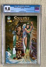 MICHAEL TURNER Soulfire Beginnings # 1 cgc 9.8 Aspen Wizard world 2003