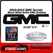 2010-2014 GMC Terrain Black Powder Coat GMC Front Grille Emblem AMI 96500K