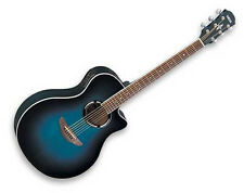 NEW Yamaha APX500II Ocean Blue Burst Acoustic-Electric Guitar FREE Guitar Strap