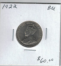 """1922 Five Cent Piece A """"BRILLIANT UNCIRCULATED"""" COIN"""