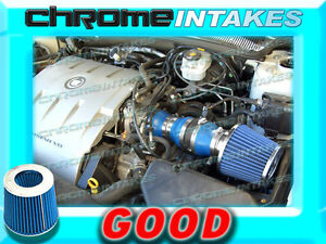 BLUE 04 05/2004 2005 CADILLAC DEVILLE ALL MODELS WITH 4.6 4.6L V8 AIR INTAKE KIT