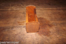 Vintage Wooden Miniature Doll Cradle New Old Stock