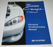 Werkstatthandbuch Hyundai Coupe Tiburon Electrical Troubleshooting Manual 2001!