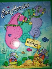 SEA HORSIES AND WATERBUGS  BY ANNIE LANG 2000 TOLE PAINT BOOK SUMMER BEACH CHEER