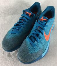 Nike KD Trey 5 II Clearwater Blue Orange Basketball Shoes 653657-488 Size 10.5
