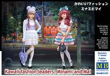 MasterBox 1/35 Kit Modélisme 35187 Kawaii Fashion Leaders Minami and Mai