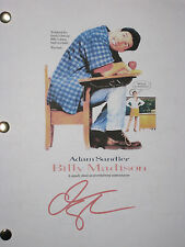 Billy Madison Signed Movie Film Script Adam Sandler MINT Condition reprint