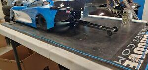 IMPROVED DESIGN! FREE SHIPPING Losi 22s TLR Drag Car 10in Wheelie bar Nooner RC