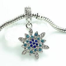1pcs silver European Charm Beads Fit 925 Necklace Bracelet wholesale #257