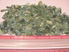 Tourmaline crystal blue green all natural 30 carat lots 15-25 + pieces