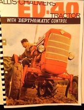 Allis Chalmers  ED-40 With depthomatic controll And All Equipmebt Available