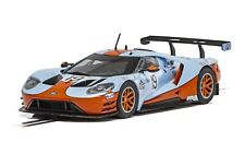 Scalextric C4034 Ford GT GTE Gulf Edition 1:32 scale slot car