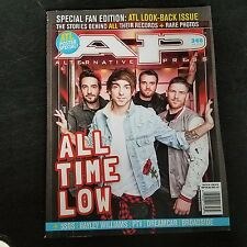 ALL TIME LOW AP ALTERNATIVE PRESS MAGAZINE Issue 348 June 2017 ATL POSTERS