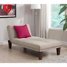Chaise Lounge Sofa Chair Couch Living Room Furniture Seat Sleeper Upholstered