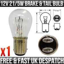 12V 21/5W BA15d (SBC) BRAKE LIGHT & TAIL LIGHT - R381 x 1