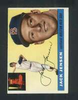 1955 Topps #200 Jackie Jensen EX+ Red Sox 126088