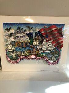Charles Fazzino 3D USA Pop Art