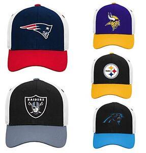 Patriots, Broncos, Vikings, Raiders NFL Youth Pick Team Logo Adjustable Hats/Cap