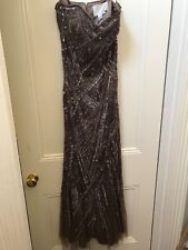 Designer  Sequin/Beaded Ladies Formal/Evening Gown Size 10/12