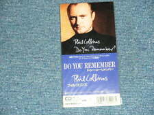 """PHIL COLLINS Japan 1990  Sealed Tall 3"""" CD Single DO YOU REMEMBER"""