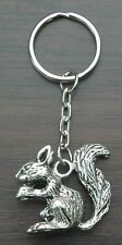 Large Squirrel Keyring Rodent Key Ring Animal Lovers Gift Souvenir