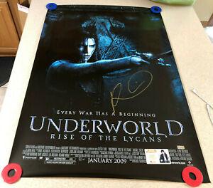 Rhona Mitra Signed Underworld Rise of Lycans 27x40 Poster Autograph Auto CA COA