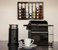 Nespresso coffee Pod Capsule kitchen storage Holder Stand Dispenser Rack wall