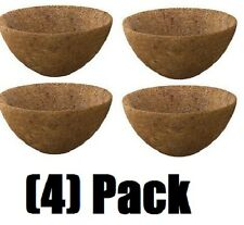 "(4) ea Panacea Products 87823 20"" Round Coco Coconut Planter Liners"