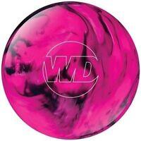 Columbia 300 White Dot Pink Black 10 LB Bowling Ball Awesome Colors