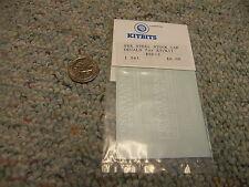 Kitbits decals HO PRR steel stock car for K9 / K11 #SP-2    N55