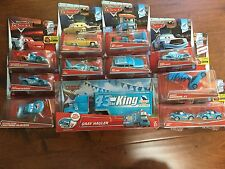 *New* Disney Cars Diecast Set Dinoco Hauler Chickhicks Mcqueen MRS the King lot