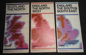 BTA Road Maps England The North West - South & South East - Scotland The North