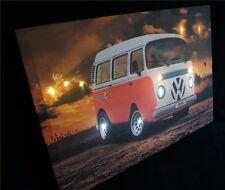 Vw T2 LED Bild Beleuchtung Wohnzimmer Dekoration 45cm X 65cm hingucker 4367