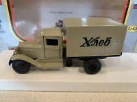 GAZ-AA van Bread LOMO-AVM 1:43 RUSSIA USSR Brown Delivery Truck lorry
