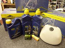 New KXF 450 06-15 Oil Service Kit Air Oil Filter Sparkplug Coolant Nano Tech 4+
