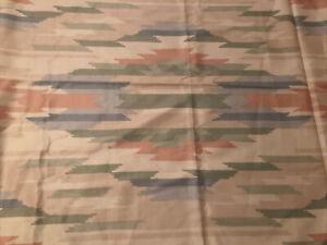 Vintage Waverly Fabric Four Corners Heard Museum Southwest EYE DAZZLER 4 3/8 Yd