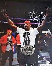 Jon BONES Jones 11x14 Autographed Photo Signed JSA COA UFC MMA Topps 2