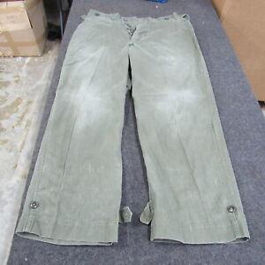 US GI WWII M1943 combat trousers HBT originals  (T35)