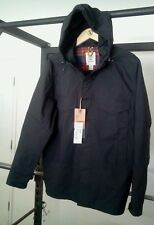 NWT TIMBERLAND TimberGuide HyVent Hooded Performance Jacket,mens Large, black