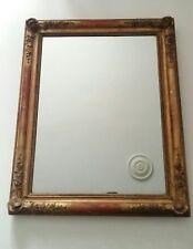 miroir doré ancien  XIXe  Louis - Philippe    cm X cm