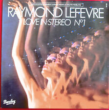 """RAYMOND LEFEVRE - LP """"LOVE IN STEREO N°1"""""""
