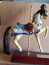 San Francisco Music Box Carousel Horse Ltd.Ed American Treasure Collection 0264