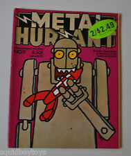 METAL HURLANT No.9 French Comic Magazine (HEAVY METAL) 1976 Moebius,Druillet