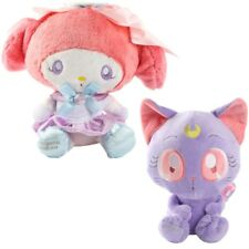 2PCS Sailor Moon My melody 25th anniversary Limited SANRIO LUNA MOON Plush Doll