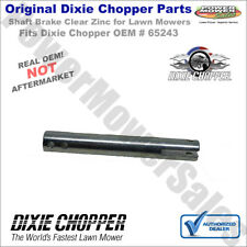 65243 Dixie Chopper Clear Zinc Brake Shaft for Classic 2250 & Other Lawn Mowers
