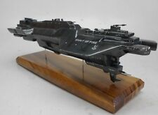 UNSC Spirit of Fire CFV-88 Halo Wars Spaceship Wood Model Free Shipping Regular