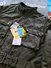 BARBOUR INTERNATIONAL BLACKWELL WAX JACKET SAGE