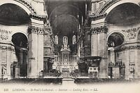 38319/ AK - London - St. Paul´s Cathedral - Interior - Looking East - *
